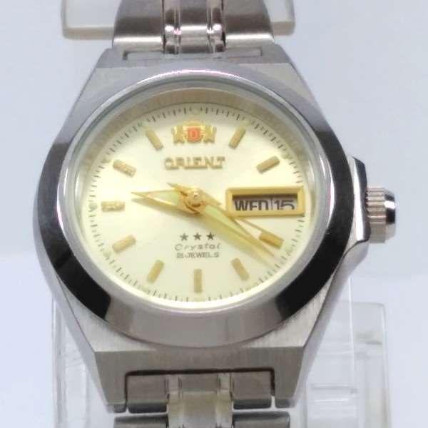 Relógio Orient Automatico Feminino Pequeno Mini FNQ1A00AC9  - E-Presentes