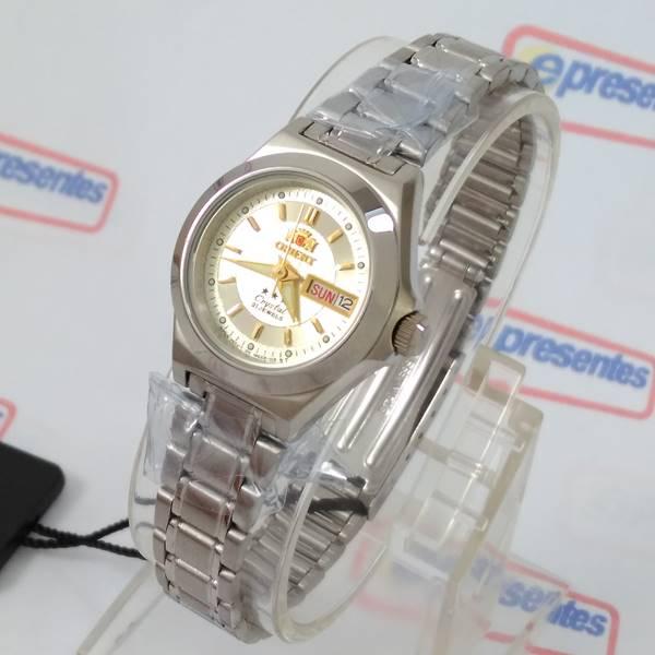 Relógio Orient Automatico Feminino Pequeno Mini Varias Cores  - E-Presentes