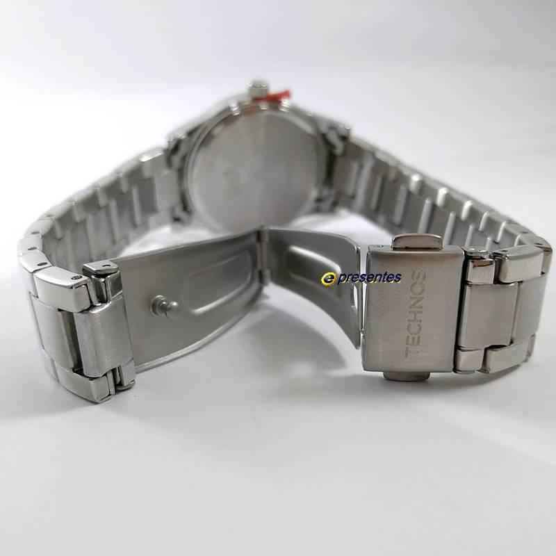 Relógio Feminino Technos Original Elegance Boutique Prateado 2035MKN/1T  - E-Presentes