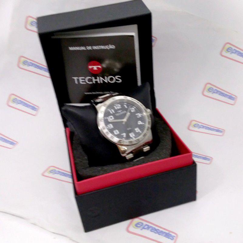 Relógio Technos Original Masculino Performance Racer 2035XH/1P  - E-Presentes