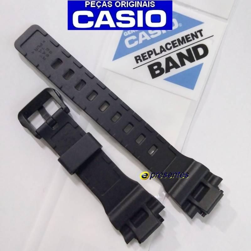 STL-S300H-1B Pulseira Casio Resina Preta 100% original *  - E-Presentes