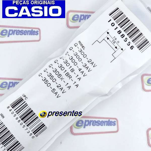 Pulseira + Bezel Casio G-shock G-300-2v - 100% Original   - E-Presentes