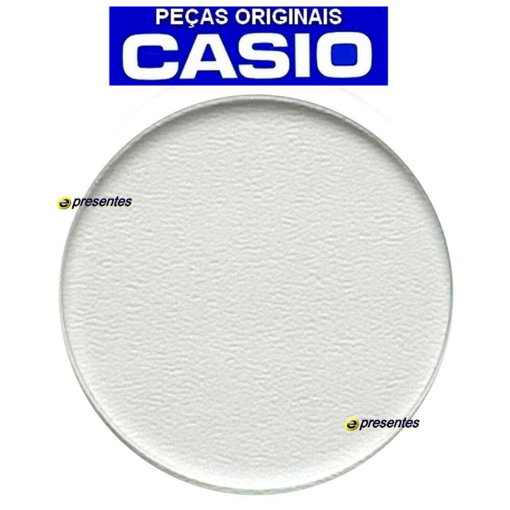 Vidro Casio G-shock Ga-100, GAX-100, GST-S110, GST-S120, GST-S130, GST-W100, GST-W110, GST-W120, GST-W130 e outros modelos Peça Original *  - E-Presentes