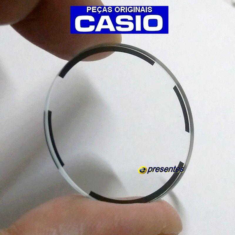 Vidro Cristal Mineral Ga-201 Casio G-shock   - E-Presentes