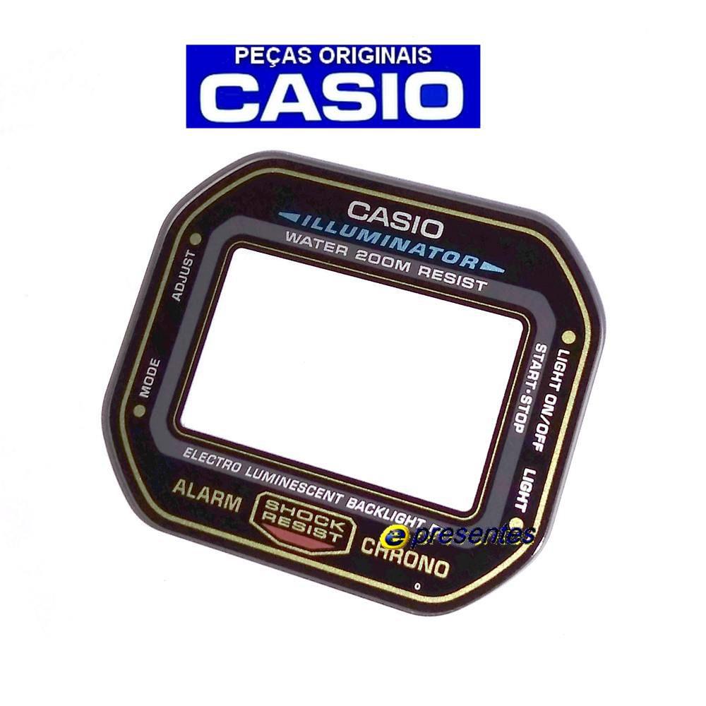 Vidro Mineral Casio g-Shock DW-5600EG-9V (3229) - Peça 100% Autêntica  - E-Presentes