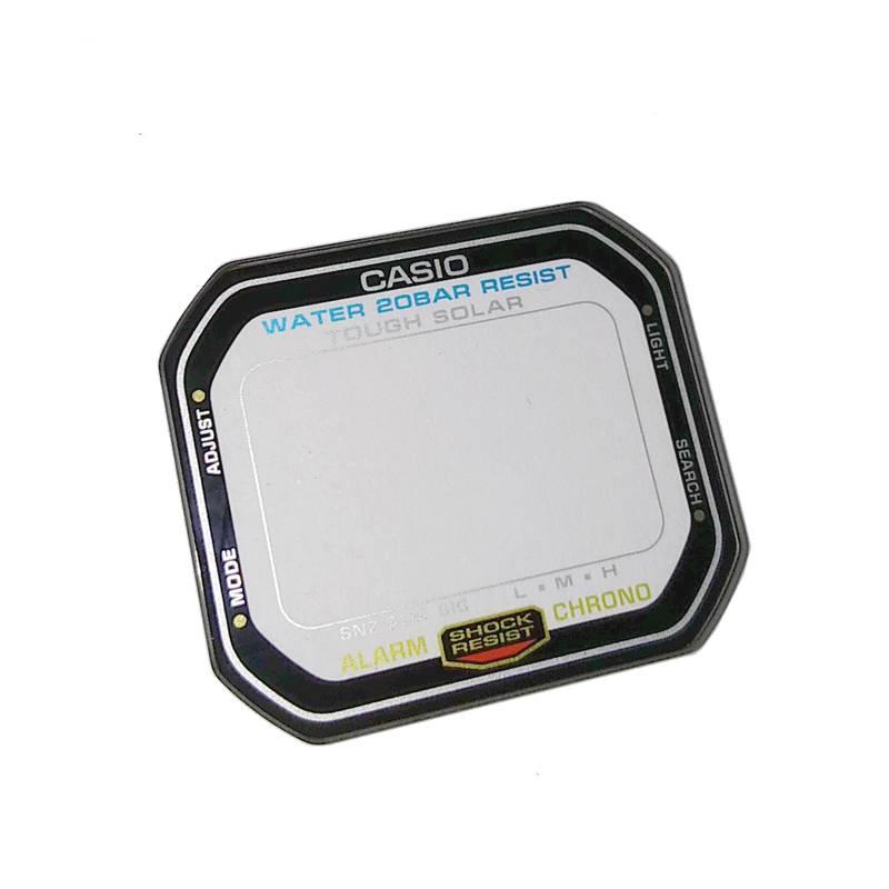 Vidro Mineral Casio G-Shock G-5600E-1   - E-Presentes
