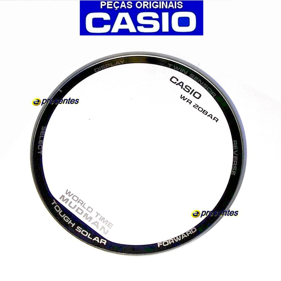 Vidro Mineral G-9300GB Casio G-Shock Mudman - Peça 100% Autêntica  - E-Presentes