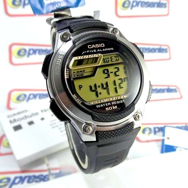 W-212H-9AV Relogio Casio Digital 5 Alarmes Wr50 Illuminator  - Alexandre Venturini