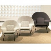 Poltrona Womb Chair base preta