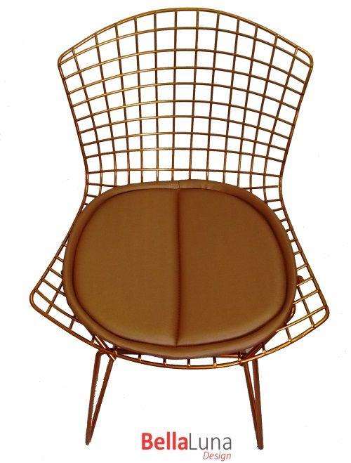 Cadeira Bertoia Cobre
