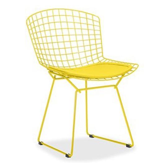 Cadeira Bertoia Pintada AMARELO