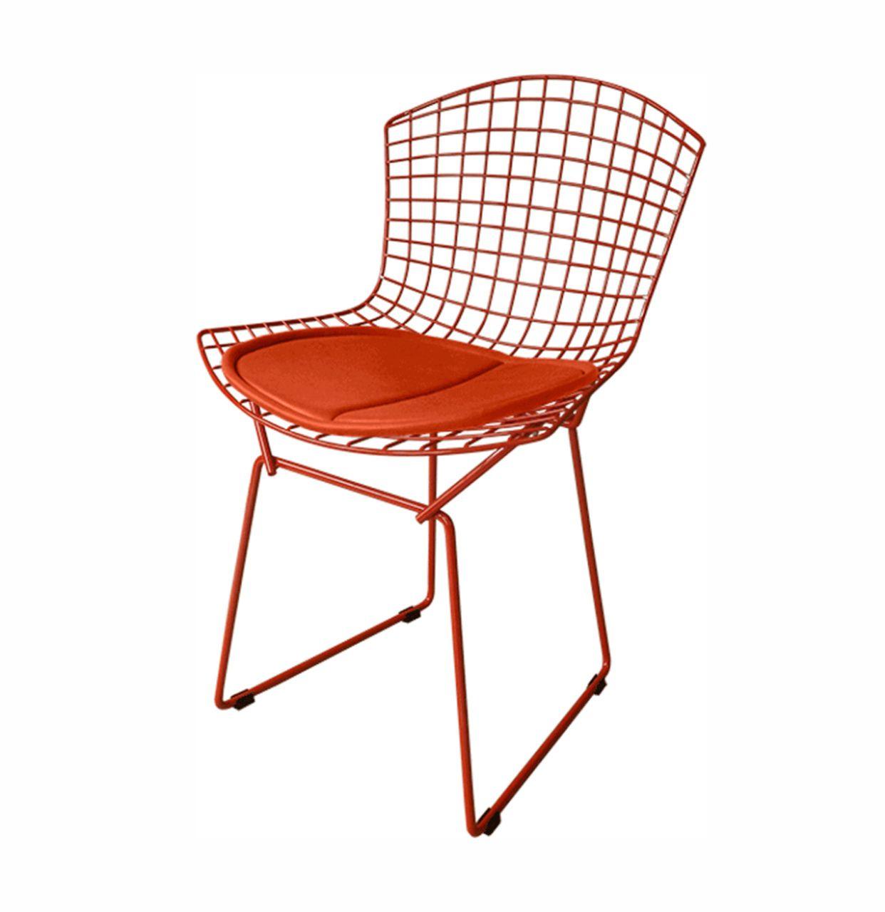 Cadeira Bertoia Pintada com assento