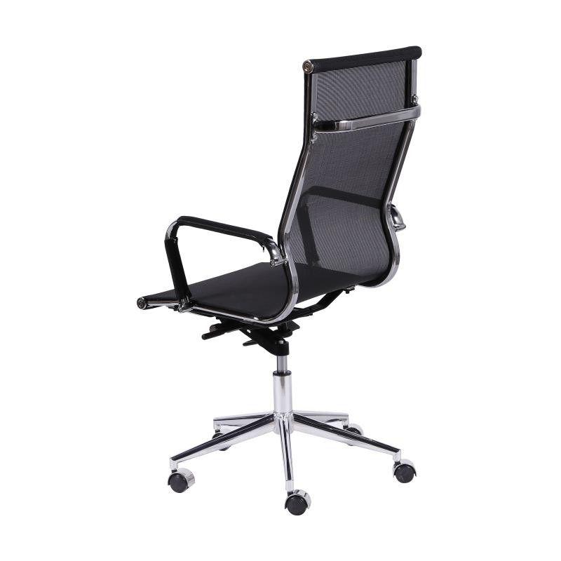 Cadeira Charles Eames Office Esteirinha Alta