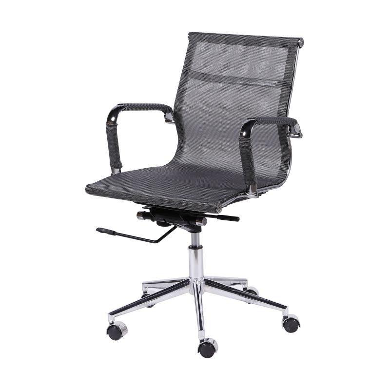 Cadeira Charles Eames Office Esteirinha Baixa