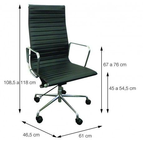 Cadeira para Escritório Presidente Alta