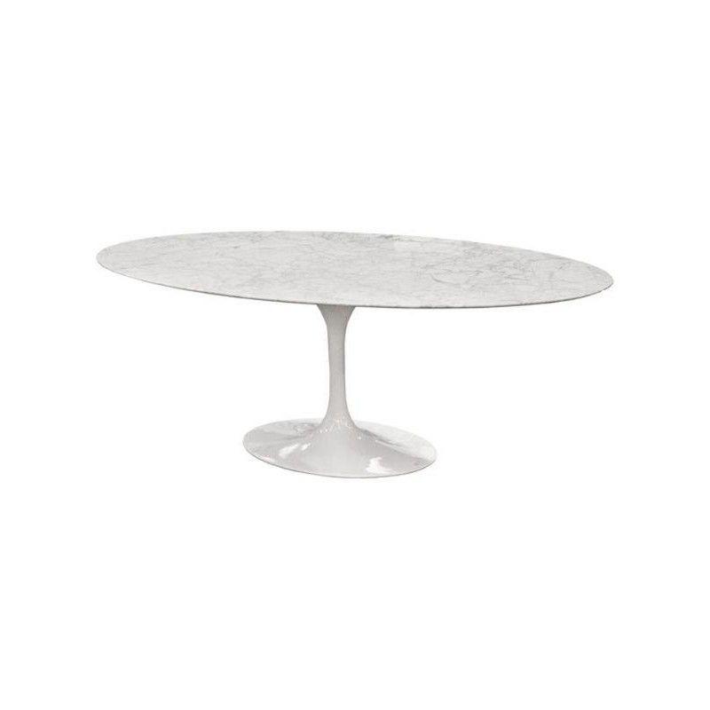 Mesa de jantar oval Saarinen 1,60x90