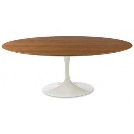 Mesa de jantar oval Saarinen 1,80x1,00