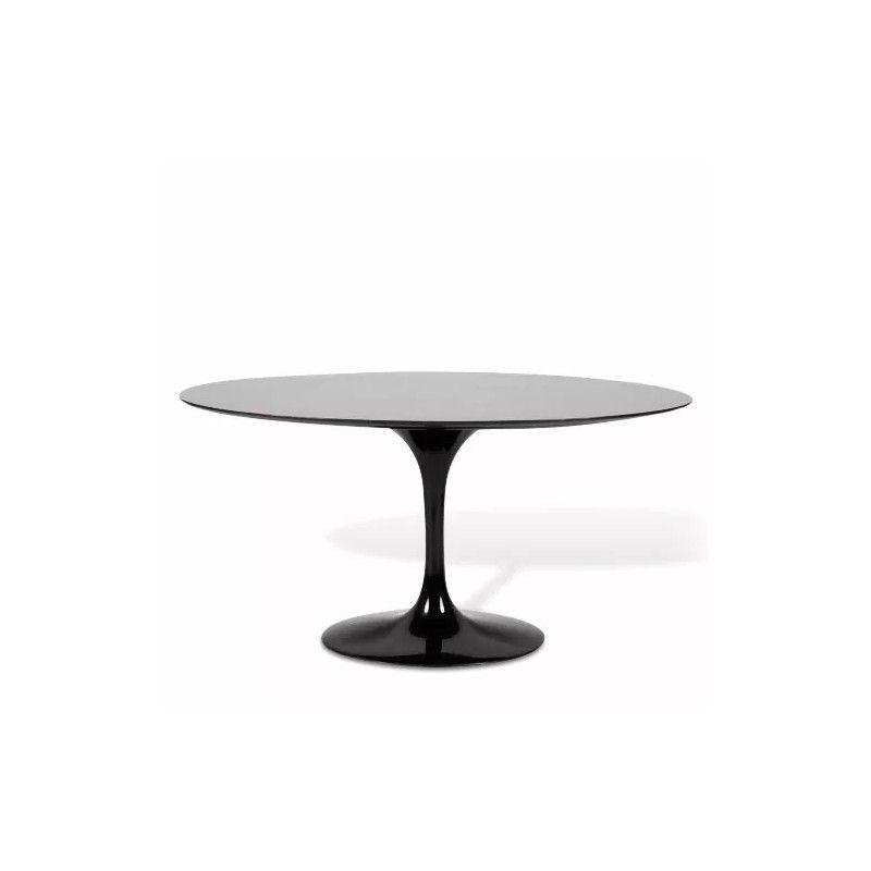 Mesa de jantar oval Saarinen 1,98 x1,22