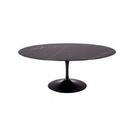 Mesa de jantar oval Saarinen 2,44x1,37