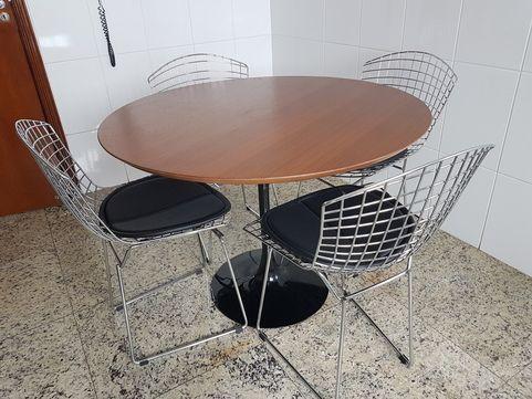 Promoção Cadeira Bertoia Cromada