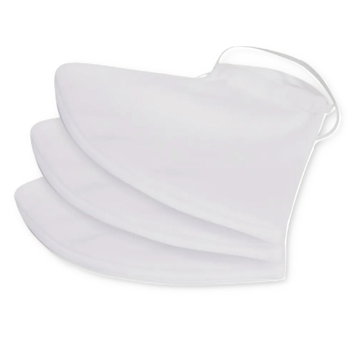 100 Unidades Máscara Tecido Duplo Lavável Reutilizável 100% Algodão Tricoline - Atacado
