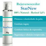 Creme Rejuvenescedor 100% Natural StarNew Retinol 1,6% - 30g