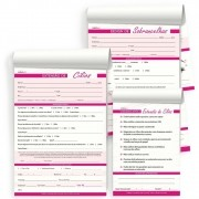 Kit Anamnese Extensão De Cílios + Cuidados Cliente + Design De Sobrancelhas