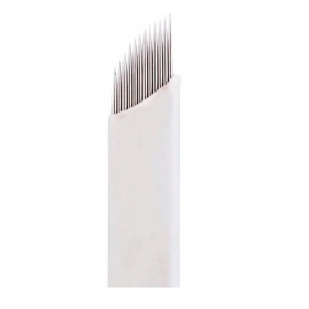 Laminas Tebori 12 Pontas Flex 0.25mm Microblading