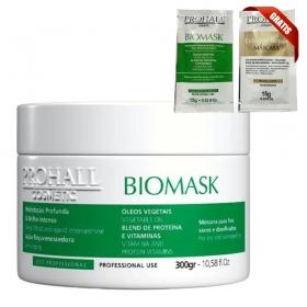 Mascara Ultra Hidratante Prohall Biomask Efeito Teia - 300g