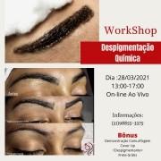 Workshop Online Despigmentação Química - Grazieli Alves