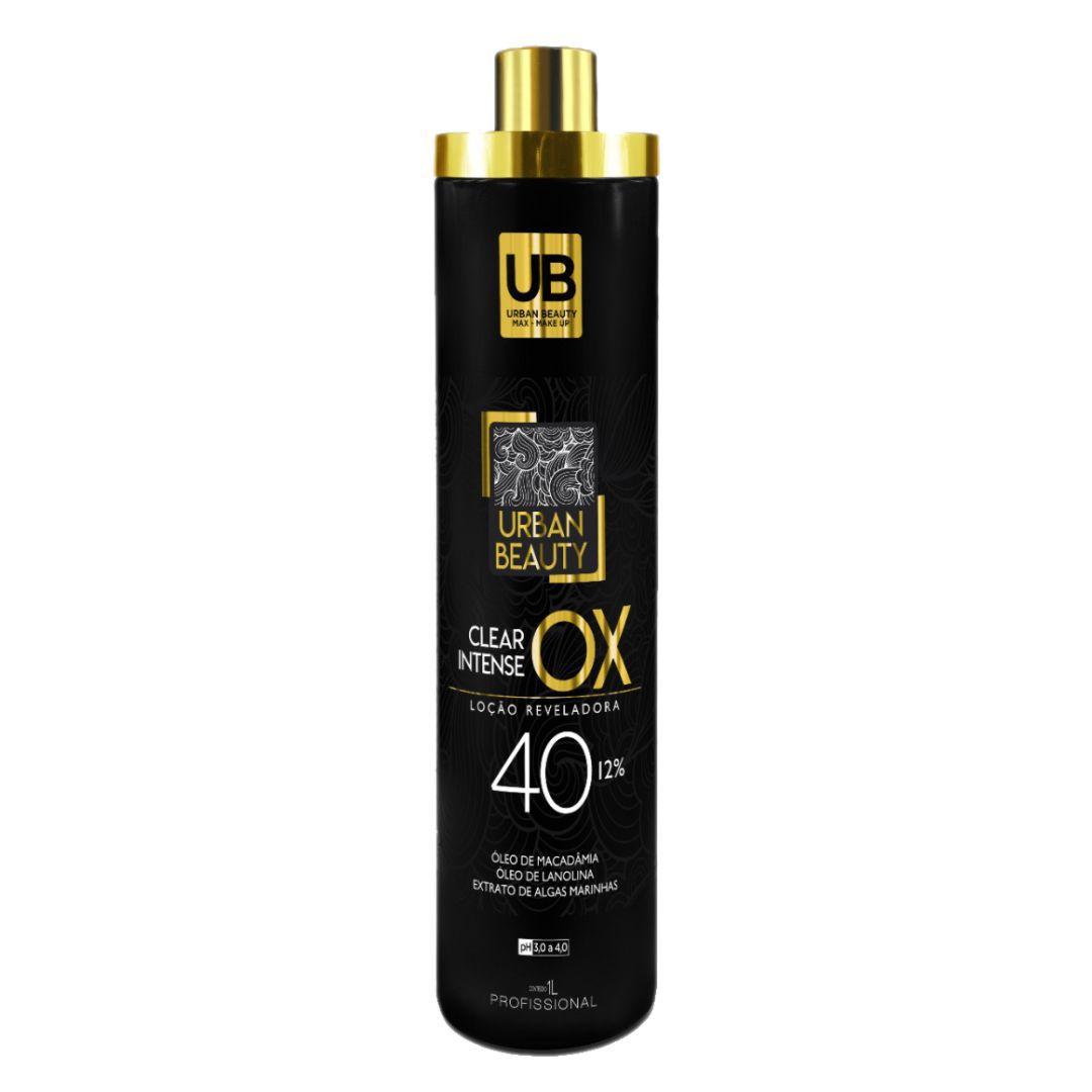 Agua Oxigenada Estabilizada Cremosa Clear Intense Loção Reveladora Ox 40 Volumes