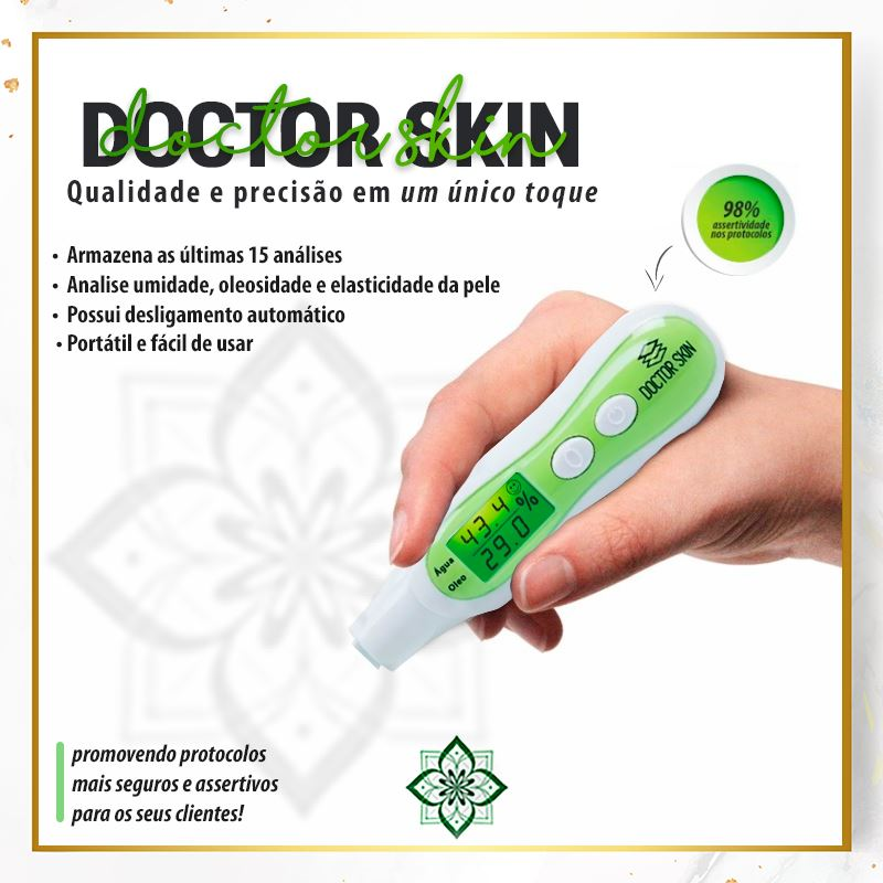 Analisador Digital Pele Facial Corporal Doctor Skin Doutor da Estética