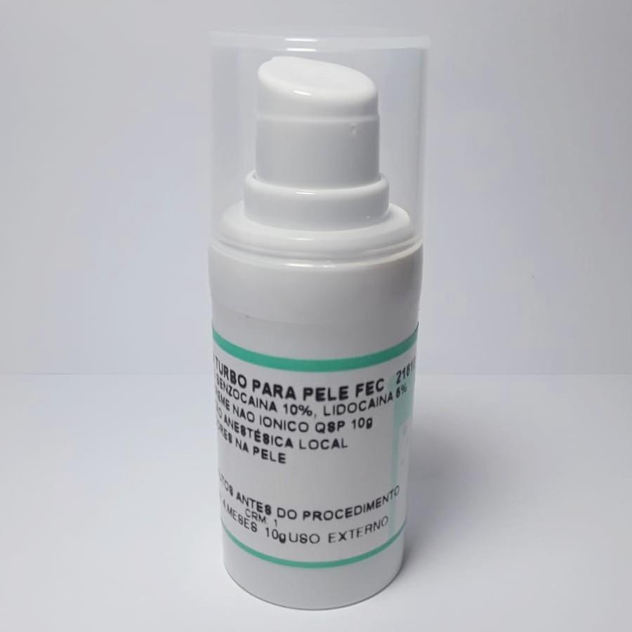 Anestésico Pele Fechada Micro Numb 10g + Plastico Filme Aplicação