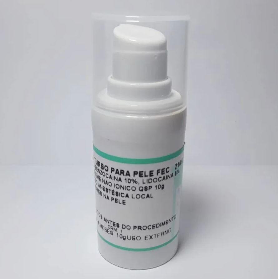 Anestésico Pele Fechada PREMIUM Epinefrina Micropigmentação Micro Numb - 10g