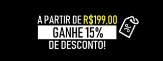 3 - 15% de Desconto