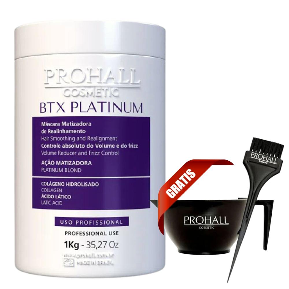 Btx Platinum Prohall Mascara Matizadora Revitalizadora - 1 Kg