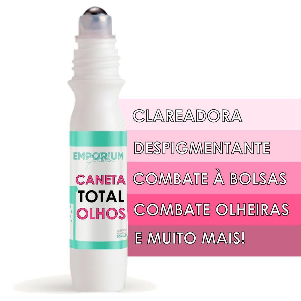 Caneta Tratamento Total Aréa dos Olhos Clareamento Antioxidante Despigmentante - 10g