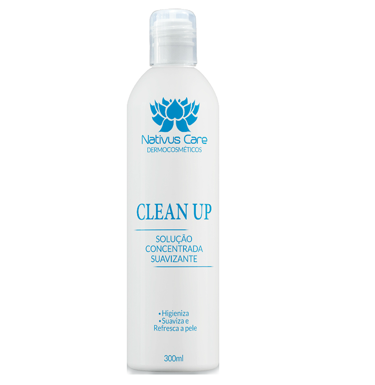 Clean Up Tattoo Loção Refrescante Suaviza Nativus Care 300ml