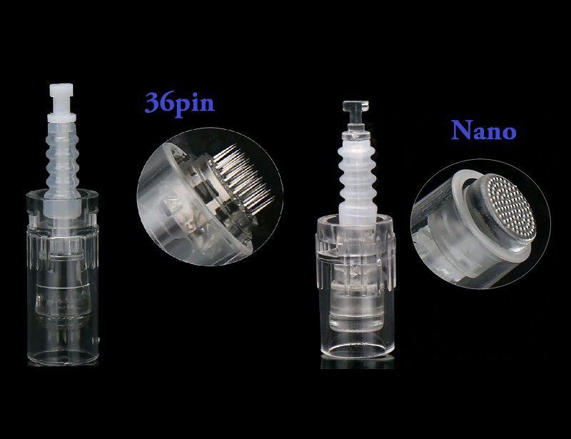 Combo Dermapen 10 Cartuchos Nano + 10 Cartuchos 36 Agulhas