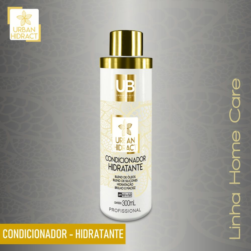 Condicionador Hidratante Alta Tecnologia Urban Hidract Home Care - 300ml