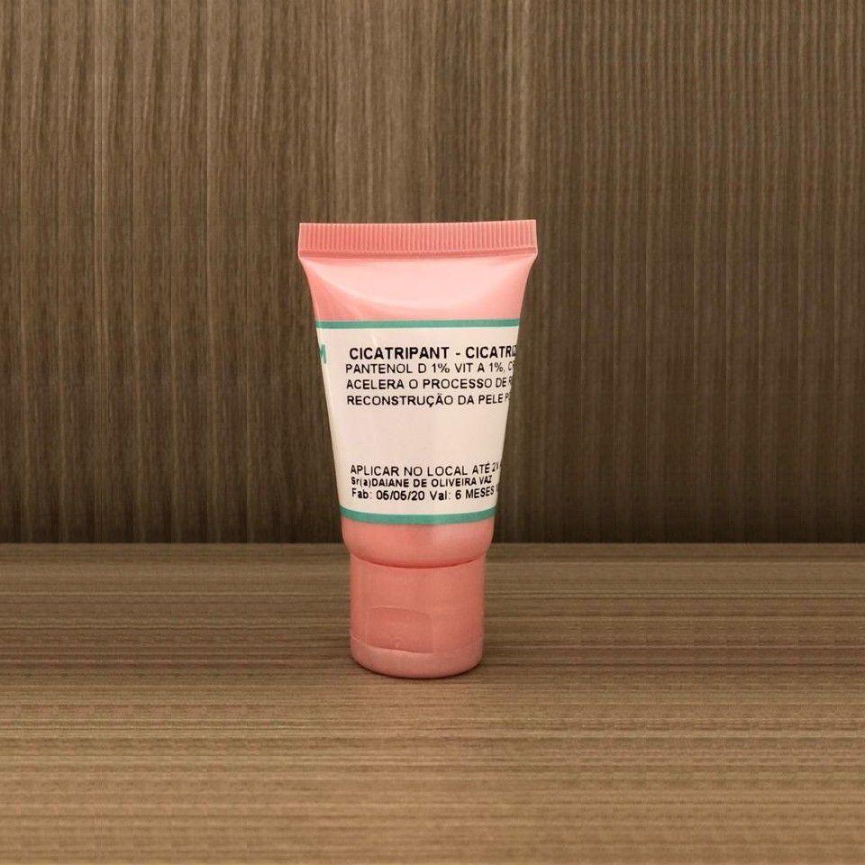 Creme Cicatrizante Vitamina A B5 Pós Procedimento Micropigmentação Microblading CICATRIPANT Micro Numb - 10g