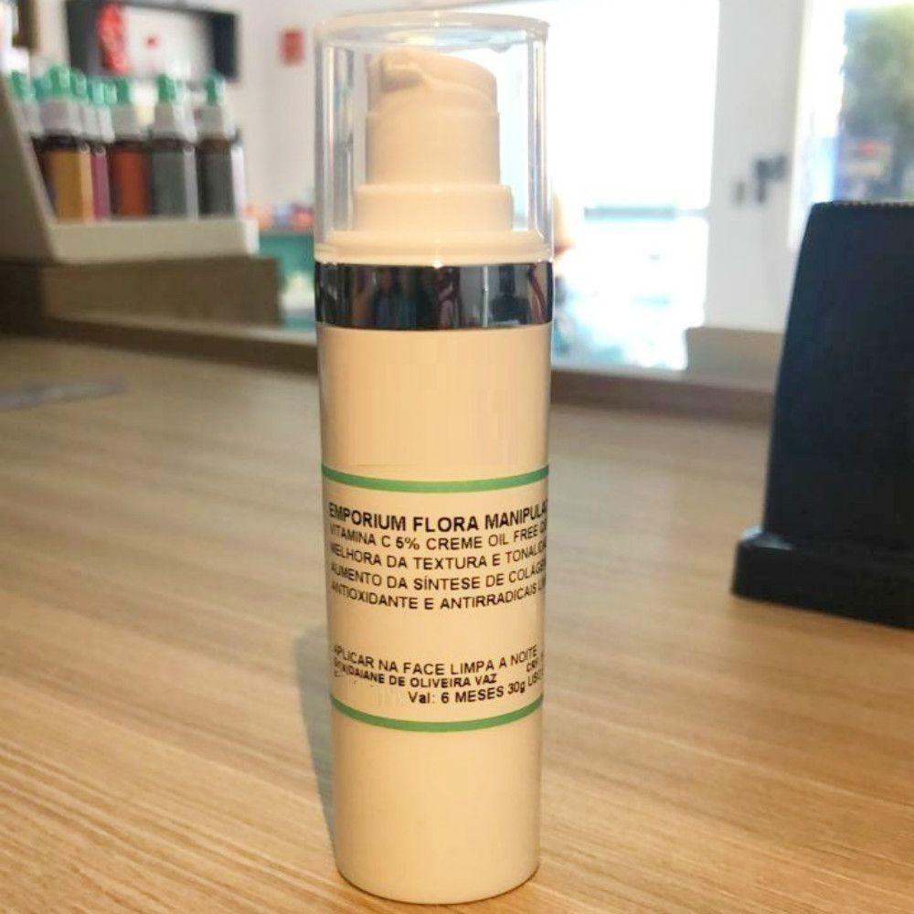 Creme Vitamina C Antioxidante Multibenefícios Para Pele - 30g