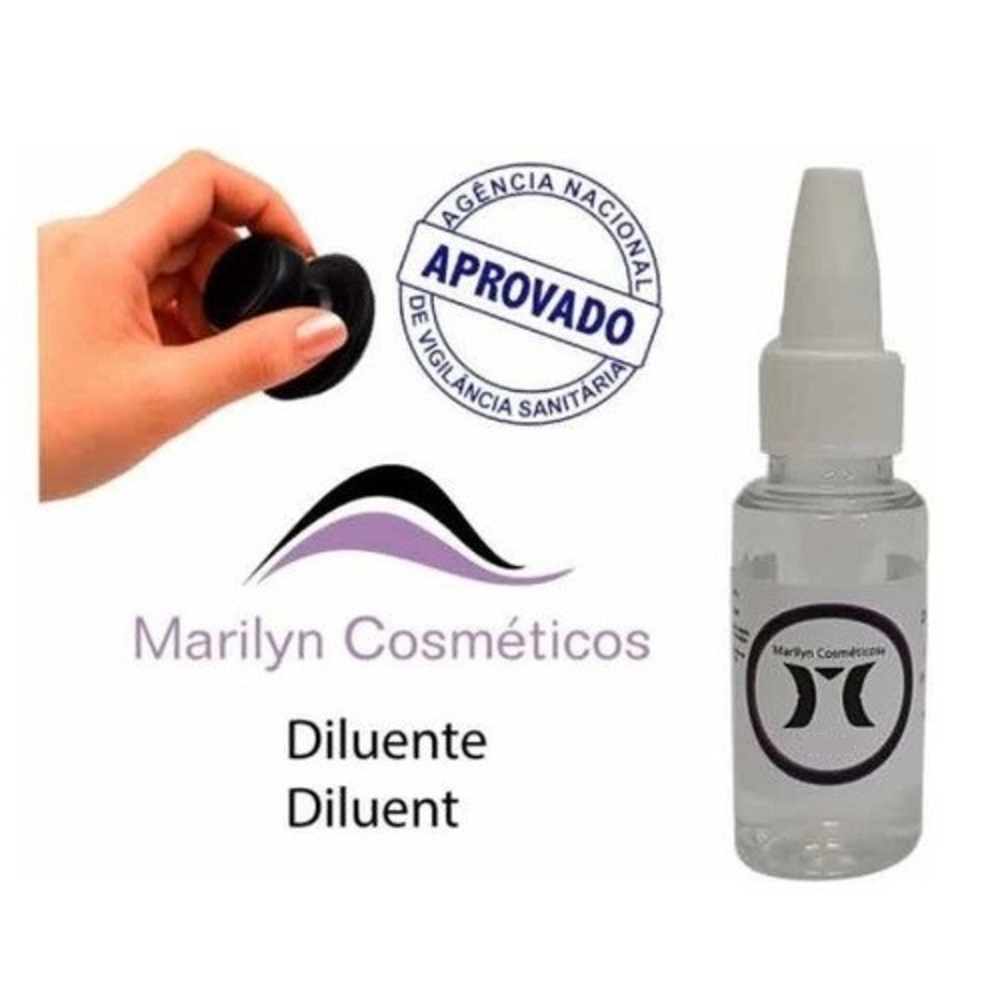 Diluente Para Pigmento Marilyn Micropigmentação Microblading - 20ml