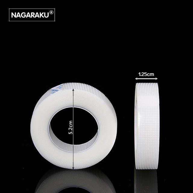 Fita Adesiva para Alongamento Extensão de Cílios Micropore Nagaraku 9M