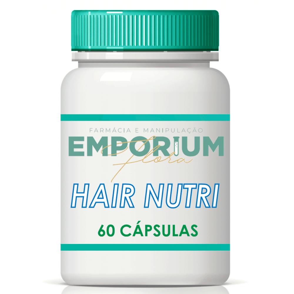 Hair Nutri Suplemento Tratamento Queda de Cabelo - 60 Cápsulas