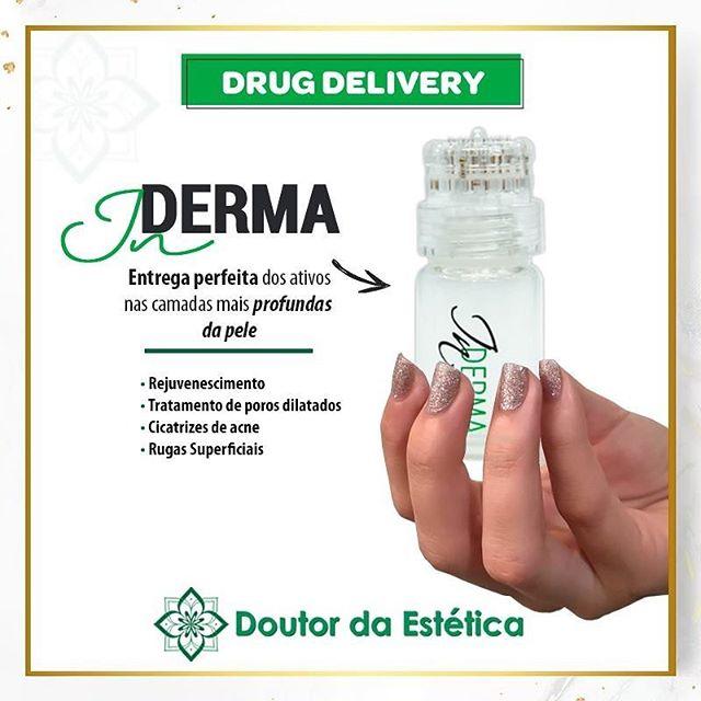 Inderma Infusão Drug Delivery Microagulhamento Doutor da Estética - Anvisa