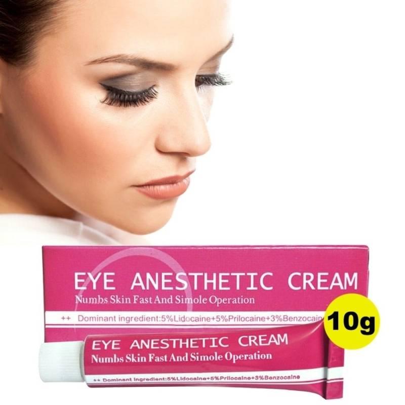 Kit 5 Anestésico Eye Anesthetic Cream Micropigmentação Microblading 10g