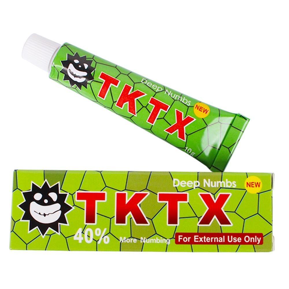 Combo 5 Anestésico TKTX 40% Verde Micropigmentação Microblading Tatuagem