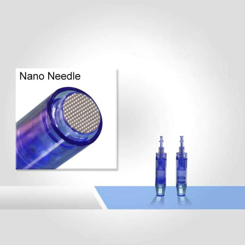 Kit 5 Cartuchos Dermapen Dr Pen Microagulhamento Nano Agulhas