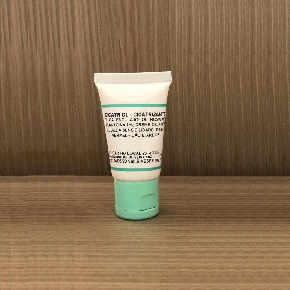Kit Creme Cicatrizante Vitamina A B5 Óleos Naturais Pós Procedimento Micropigmentação Micro Numb - 10g + 10g